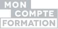 Logo Compte Formation gris